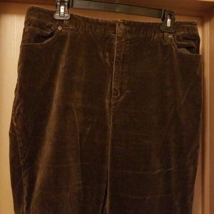 Olive green velour pants Newport news